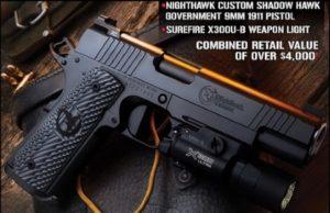 Nighthawk 9mm 1911 Pistol Giveaway