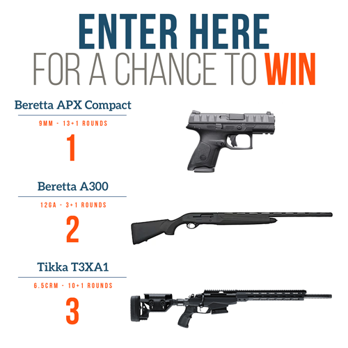 Gun giveaway sweepstakes