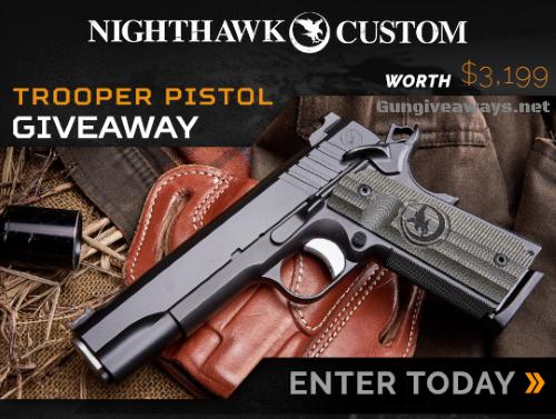 Nighthawk 1911 Pistol Giveaway