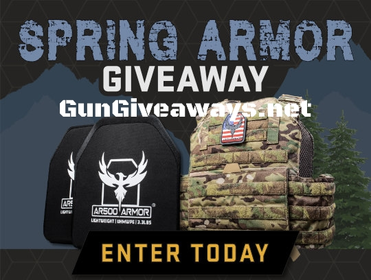 AR500 Plate Carrier + Armor Package Giveaway