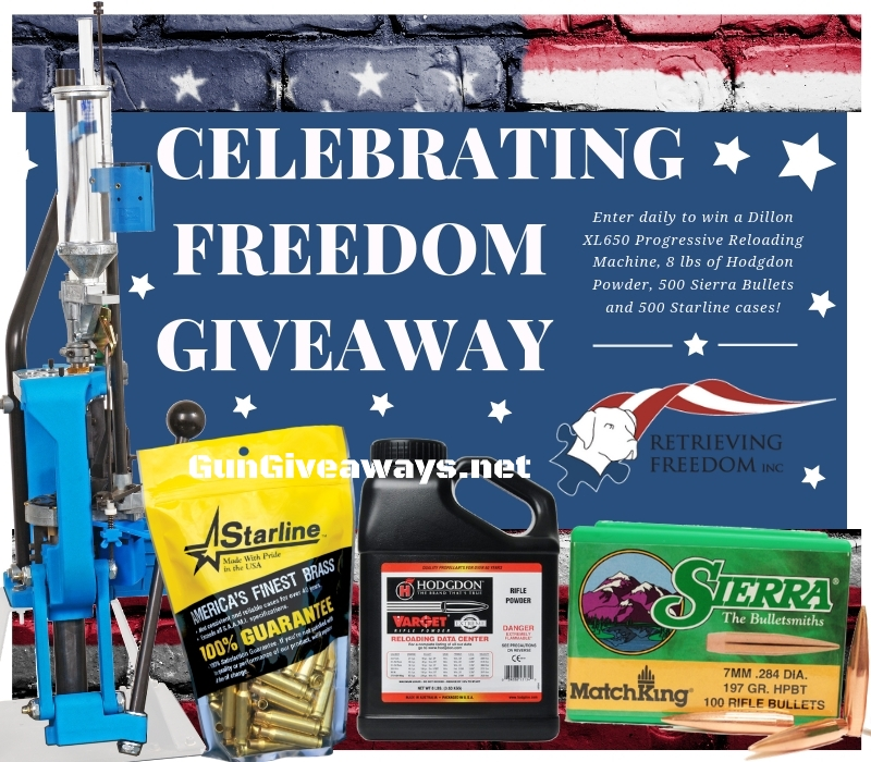 Dillon XL650 Reloading Press Package Giveaway | Gungiveaways net