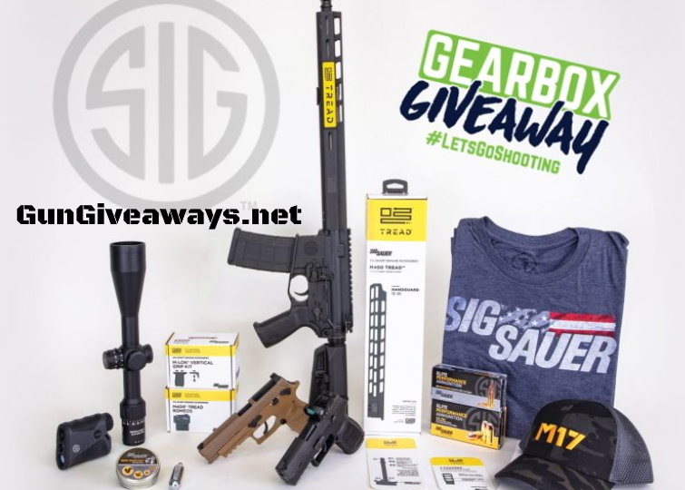 SIG SAUER MONTHLY GIVEAWAY WINNERS