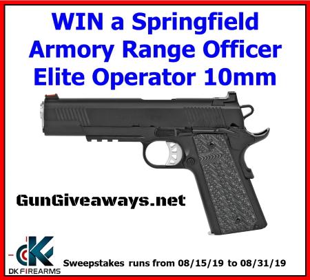 Springfield Armory Range Officer Elite Operator 10mm 1911