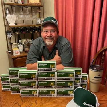 Gerald from LA - May 2021 Winner 1,000 Rounds 9mm Ammo
